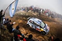 WRC Rally Argentinien Sebastien Ogier FR Julien Ingrassia FR Volkswagen Polo WRC Motorsport