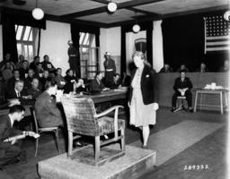 Kriegsverbrecher-Prozeß in Dachau 1947 - Ilse Koch / Nuremberg Trials / 1947 -