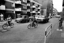 Pedestrian friendly street in Hannover 1978