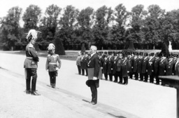 Parade in front of the Emperor Wilhelm II in Potsdam, 1913
