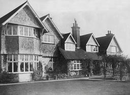 The Home Of The Late Author Sir Arthur Conan Doyle Near Crowborough.