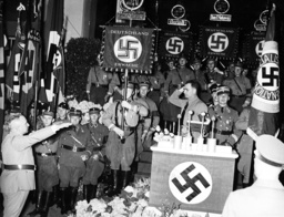 Rudolf Hess and Robert Ley, 1937