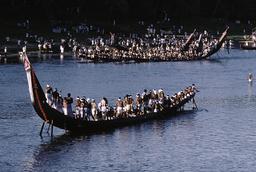 Indien, Regatta der Schlangenboote in Aranmula / Foto - -