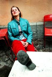 Regissör Åsa Kalmér.
