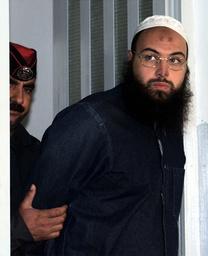 JORDANIAN RAED HIJAZI ARRIVES AT MILITARY COURT IN AMMAN