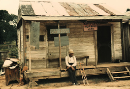 Farbige / USA/ Fischhandlung/Foto 1940 - Fish Store, Afro-American / Photo / 1940 -
