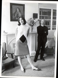 Actress Vanessa Redgrave And Rev John Hester In 1966 At A Celebration Of The Renovation Of The Theatre Girls'' Club A Theatrical Hostel In Greek Street In Soho London.