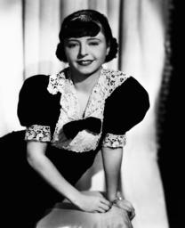 Novelist and screenwriter Vina Delmar, 1937