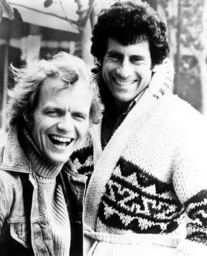 STARSKY AND HUTCH, from left: David Soul, Paul Michael Glaser, 1975-79.
