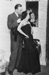 Theo Lingen and Maria Bard in 'Marguerite durch drei' at the Staatstheater Kleines Haus in Berlin, 1938