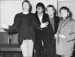 Pop Group Manfred Mann Singers L-r Paul Jones Manfred Mann Michael D'abo And Mike Hugg Manfred Mann Was A British Beat Rhythm And Blues And Pop Band (with A Strong Jazz Foundation) Of The 1960s Named After Their South African Keyboardist Manfred Man