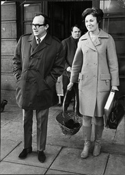 Eric Morecambe Comedian With Wife Joan Morecambe 1968.