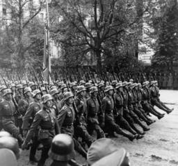 Siegesparade in Warschau 1939 - Victory Parade Warsaw 1939 -