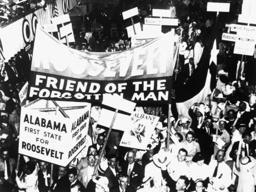 Präsidentschaftswahlen USA 1936 - Presidential election / USA / 1936 -