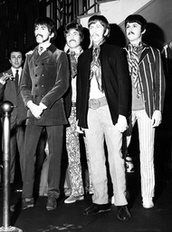 English Rock Band The Beatles 1960 - 1970