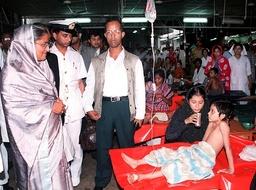 BANGLADESH-FLOODS-HASINA
