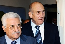Israel's Prime Minister Olmert and Palestinian President Abbas meet in Jerusalem