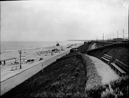 Views Of Gorleston Norfolk Showing Beach.