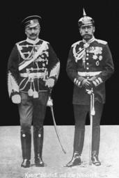 Kaiser Wilhelm II and Czar Nicholas II, 1913