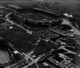 Aerial View Of Wembley Stadium For Fa Cup Final Between Birmingham City And West Bromwich Albion (1-2) 1931.