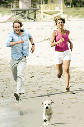 MARLEY & ME, (MARLEY AND ME), from left: Owen Wilson, Jennifer Aniston, 2008. TM & Copyright ©Fox 20