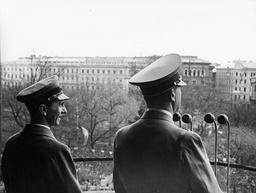 Hitler in Vienna in 1938