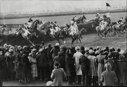 Horse Racing In Britain '1934 Grand National' The 1934 Grand National Was The 93rd Renewal Of The World-famous Grand National Horse Race That Took Place At Aintree Racecourse Near Liverpool England In 1934. It Was Won By 8/1 Shot Golden Miller Who
