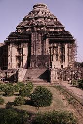 Konarak, Sonnentempel von Süden / Foto - Konarak, Sun Temple / Photo - Konarak, temple du Soleil depuis le sud