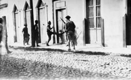 Street fights in Vera Cruz, 1914