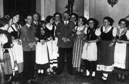 Watchf Associated Press International News Germany APHS HITLER GOEBBELS 1937