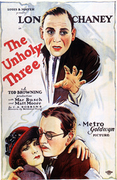 1925 - The Unholy Three - Movie Set