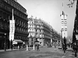 Avenue de l'Opéra, 1937