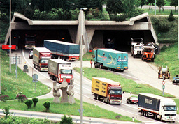 FILE PHOTO OF SOUTHERN ENTRANCE OF GOTTHARD TUNNEL.