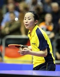 Fen Li SWE bei der Angabe German Open 2014 Tischtennis 29 03 2014 EP_Fwt