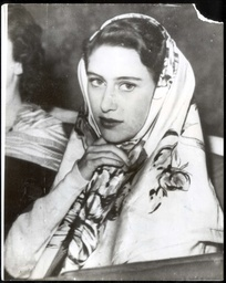 Princess Margaret 30/4/1949 Visit To Italy Princess Margaret Looks Madonna-like In Her Headscarf During Her Holiday On The Isle Of Capri.