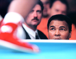 MUHAMMAD ALI WATCHES DAUGHTER LAILA ALI IN BOXING DEBUT IN VERONA