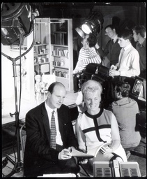 Gerry Anderson And His Wife Sylvia Anderson Creators Of A Number Of Popular Puppet Shows Are Shown At Work In A Slough Studio In 1965.