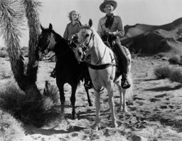 DANGER VALLEY, from left: Lois Wilde, Jack Randall, 1937