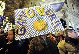 CORRECTION-HUNGARY-POLITICS-PROTEST