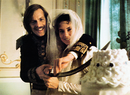 THE DUELLISTS, from left: Keith Carradine, Cristina Raines, 1977