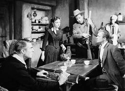 1952 - Hangman's Knot - Movie Set