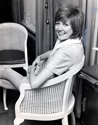 Singer Cilla Black Pictured In 1970.