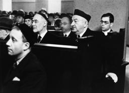 Leo Baeck u.H.Stahl/Jüd.Winterhilfe 1937 - L.Baeck + H.Stahl/Jewish Winter Aid 1937 -
