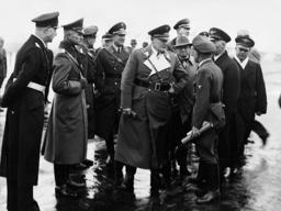 Hermann Goring, Johannes Blaskowitz, Karl Bodenschatz and Freiherr von Hardorf, 1934