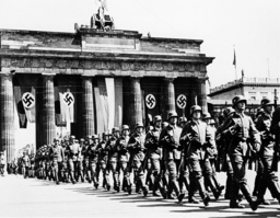Wehrmacht parade at the Brandenburg Gate in Berlin, 1939