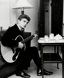 Phil Everly takes tea at the Savoy Hotel, London, Britain - 11 Nov 1962