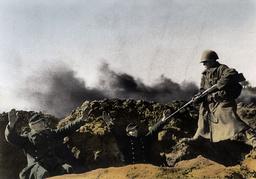 Kämpfe um Königsberg 1945/dt.Soldaten... - Battle of Königsberg 1945 / German sold. -