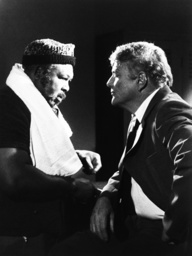 ARCHER, from left: Archie Moore, Brian Keith in 'The Body Beautiful' (Season 1, Episode 3, aired Feb
