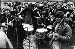 Dave Dee Dozy Beaky Mick And Tich Challenged The 40-strong Band Of The Parachute Regiment To A Noise Contest - 1968