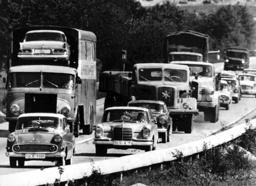 Full motorway in 1963